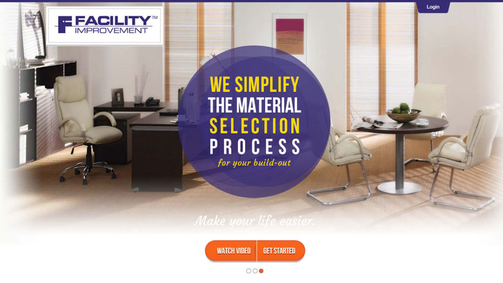 Facility improvement the material selection process