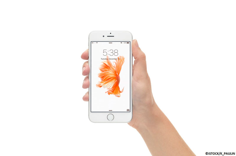 iPhone6S in white colour