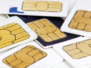 Many mobile sim cards