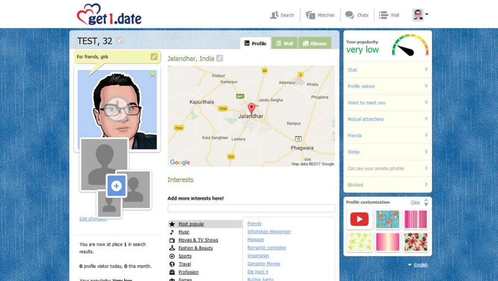 get1.date with mates by searching on google map