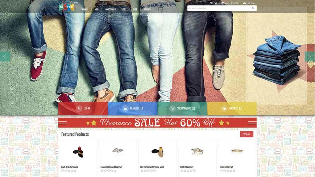 Boys denims sale on Khareed app