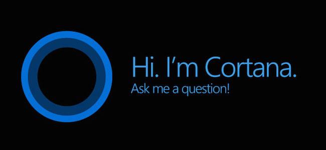 Cortana assistance
