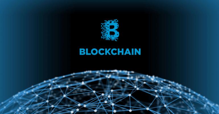 Blockchain technology blockchain logo
