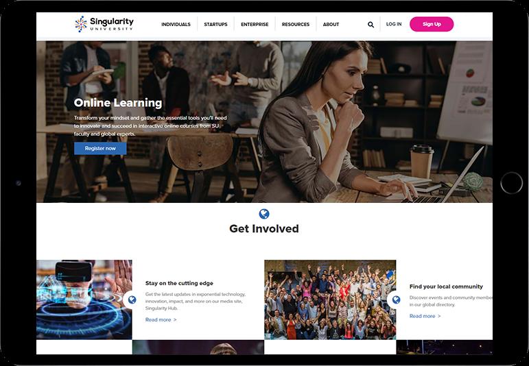 Online Learning Website