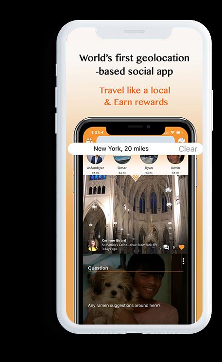 Geological social app