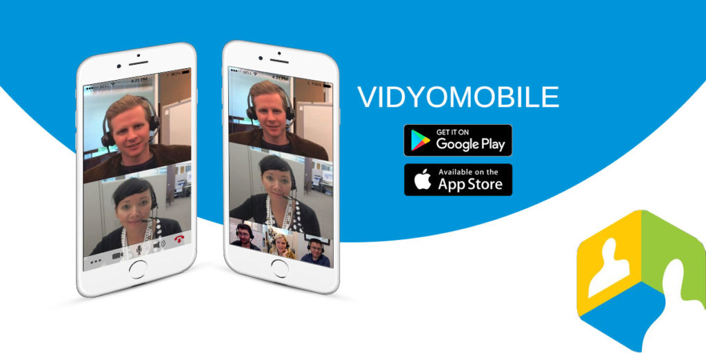 Video calling with Vidyo Mobile on two iPhone mobile
